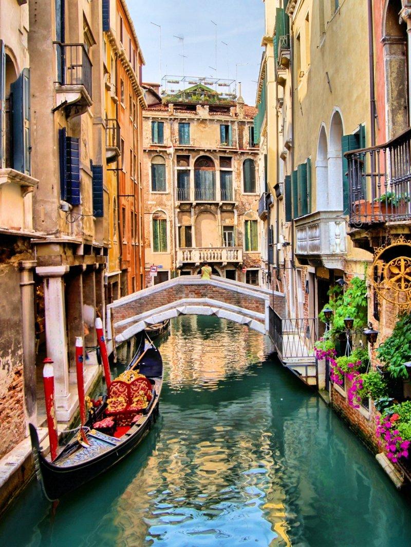 Венеция открытка